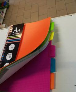 Project book coloreassortito