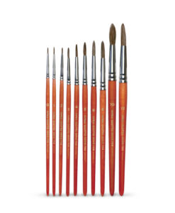pennelli punta tonda serie 700
