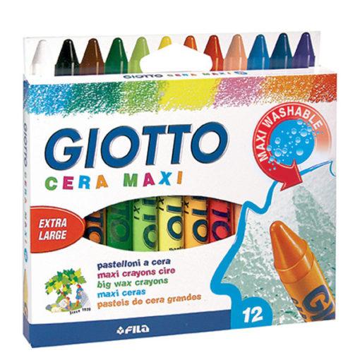 Pastelli Giotto cera maxi