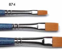 Pennello Tintoretto 874 sintetico ambra
