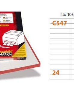 Markin C547 etichette adesive
