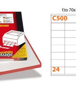 Etichette Markin C500