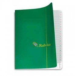 Rubrica a quaderno