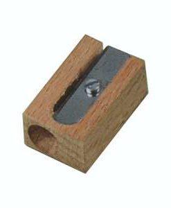 Temperamatite in legno 1 foro