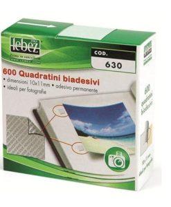 Quadratini adesivi per fotografie