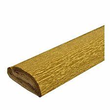 Carta crespa oro