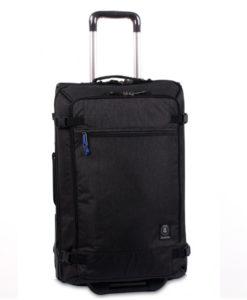 Trolley invicta @work nero organizzato doppio vano porta tablet posta pc bagaglio a mano dimensioni consentite