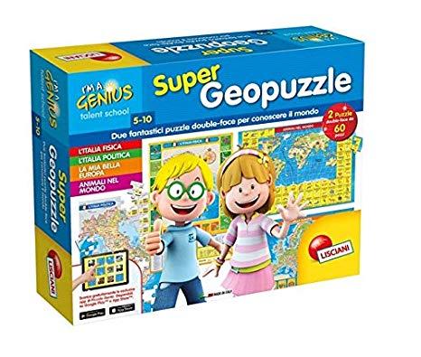 lisciani geografia puzzle italia europa