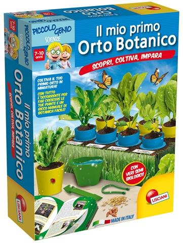 costruisci orto botanico