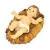 statua in poliresina di gesù bambino