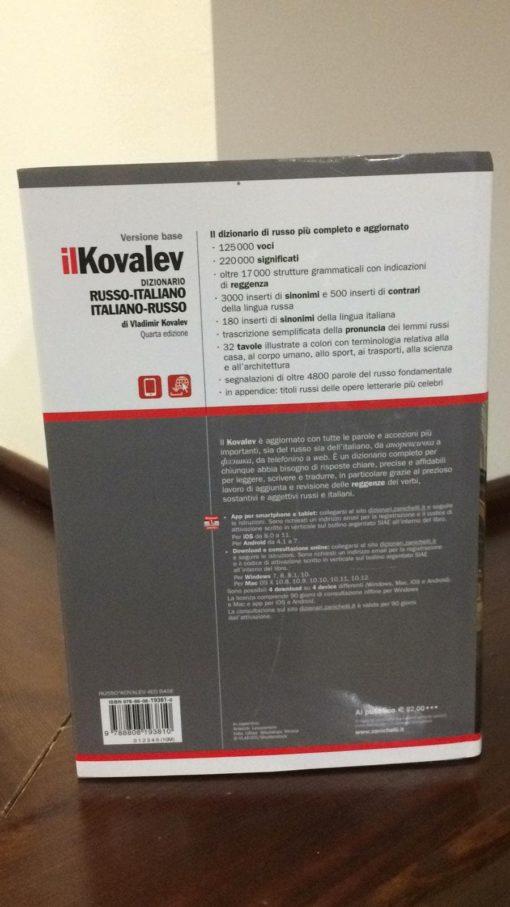 9788808193810 dizionario di russo kovalev