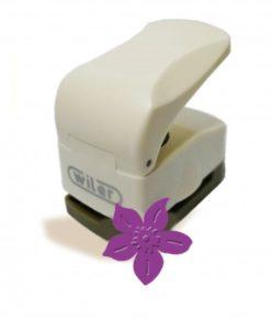 Fustella fiore in rilievo 25mm