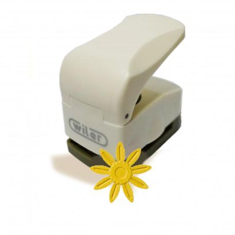 Fustella Sole 25mm a rilievo