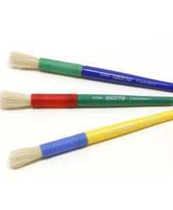 pennellotti giotto pennelli spessi in setola naturale