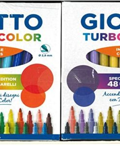 Giotto special edition 48 pennarelli Turbo color