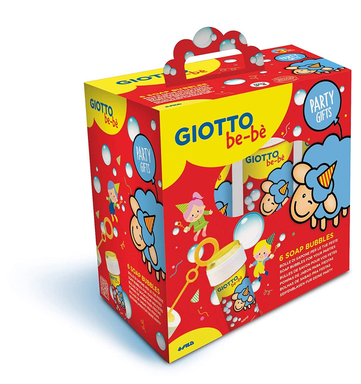 Bolle Di Sapone Giotto Bebe Party Set 6 Pz Centroscuola Net