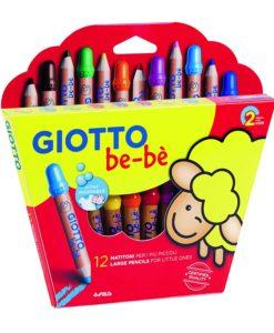 matitoni giotto bebè 12 colori