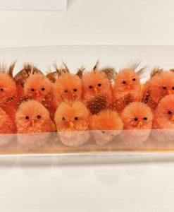 pulcini decorativi pasqua 16 pezzi con ali variapinte