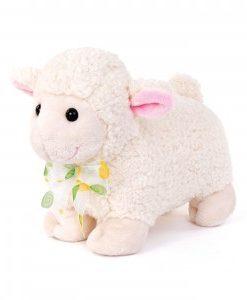 peluche pecorella con fiocco. Pasqua