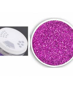 porporina fucsia glitter 100 grammi