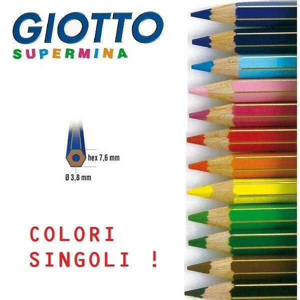 da 3,8 mm giotto supermina sfuso numero 22 Pastello Giotto Supermina celeste