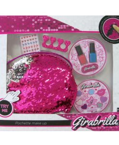 paillettes girabrilla pochette make up smalti trucchi unghie