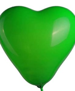 palloncini in lattice cuori verdi per promessa