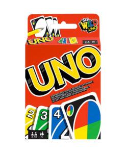 Gioco di carte gioco di società UNO