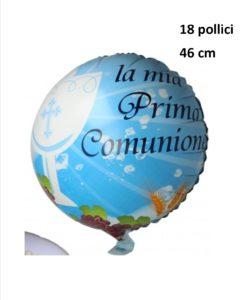 palloncino per composizioni comunione maschile