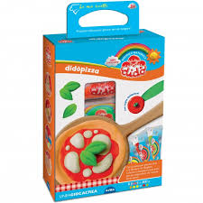 set pasta modellabile didòpizza con attrezzi