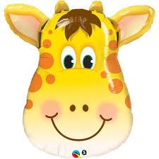 palloncino mylar giraffa gigante