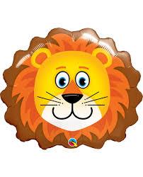 palloncino in mylar leone 76cm gigante