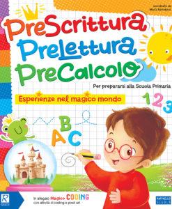 libro scuola materna prescrittura precalcolo