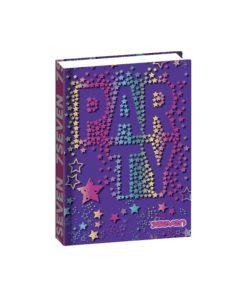 seven-diario-16-mesi-party-glitterato-viola