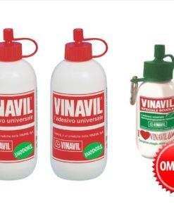 vinilica-vinavil-2x100-vinavillino-portachiave-gratis