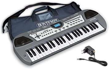 tastiera elettronica 49 tasti con custodia 100 effetti 100 suoni