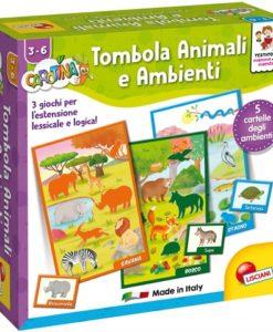 animali e ambienti lisciani 3 anni