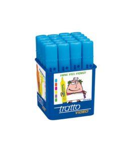 barattolo-20-evidenziatori-azzurri