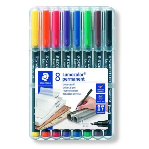 pennarello staedtler lumocolor punta fine per tutte le superfici