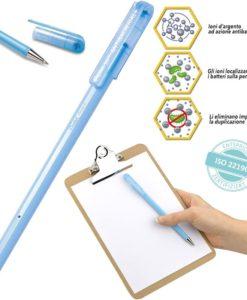 penna antibatterica con ioni d'argento pentel
