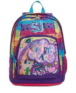 zaino per la scuola elementare sj advanced multicolor girl