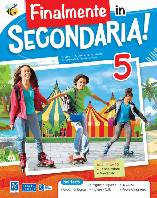 libro delle vacanze estive classe quinta scuola primaria