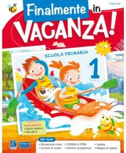 libro delle vacanze raffaello prima elementare novità 2021