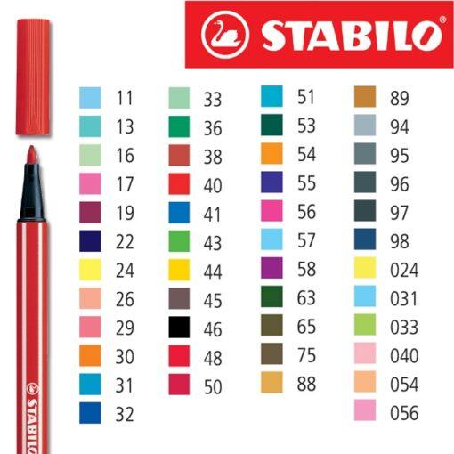 pennarelli sfusi colorati stabilo
