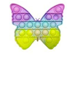 pop it farfalla colori pastello