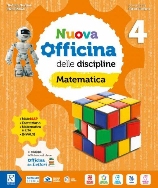nuova officina delle discipline matematica e scienze raffaello classe quarta elementare