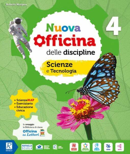 nuova officina delle discipline scienze e matematica quarta elementare