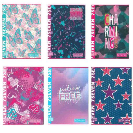 quaderni seven femminile 10 pezzi offerta