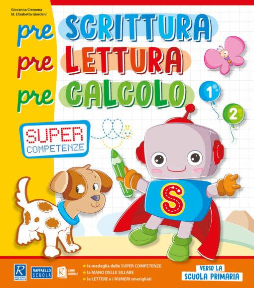 libro prescolastico raffaello scuola materna