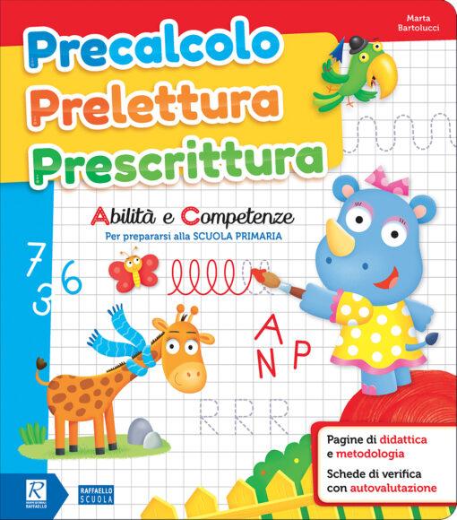 libro prescolastico scuola materna